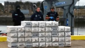 ton of cocaine